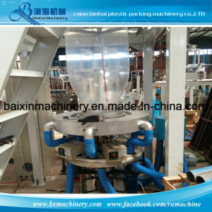 Sj-50 Sj- 55 Automatic Automatic Rotary Die Garbage Bag Extrusion Blowing Machine Manufacturer pictures & photos