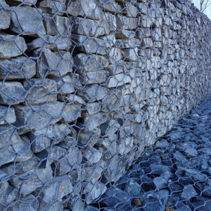 China Wholesale Zhuoda Brand 2X1X1m PVC Coated Gabion Box pictures & photos