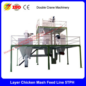 Poultry Feed Powder Premix Production Line 3-5t/H with Best Price