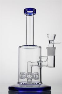 "12""Inch Glass Smoking Pipe Percolators with Four Tyre to Recycler"