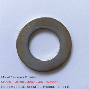 Monel-400 2.4360 Flat Washers pictures & photos