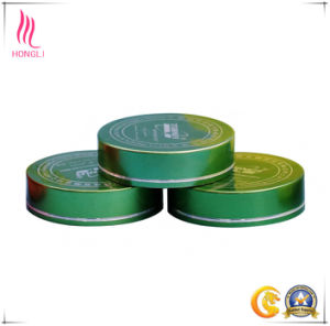 Screen Printing Aluminum Screw Covers for Cosmetic Packaging pictures & photos