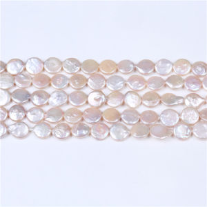 Coin Cultured Freshwater Pearl Beads Guaranteed 100% Natural pictures & photos
