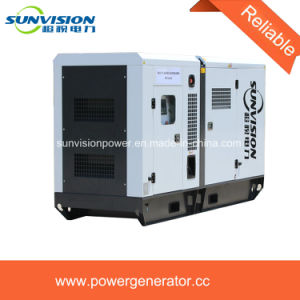 Super Silent Generator Set 100kVA with Cummins Engine pictures & photos