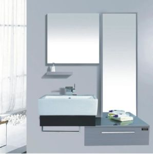 Stainless Steel Modern Bathroom Cabinet (CAG30023) pictures & photos