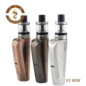 Chinese Wholesale Suppliers Vape Mods 2017 Box Mod V2 60W Kit 60W Box Mod with 0.2ohm Vaporizer Vape for Sale pictures & photos