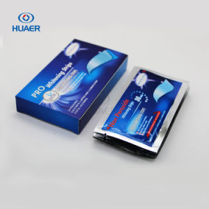 2017 Newest Activated Charcoal Non Peroxide Teeth Whitening Strips pictures & photos