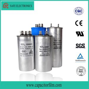 Cbb60 AC Motor Running and Starting Metallized Polypropylene Film Capacitor with Screw Feet pictures & photos