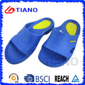 Black and Blue Cheap EVA Slipper for Men (TNK35638) pictures & photos
