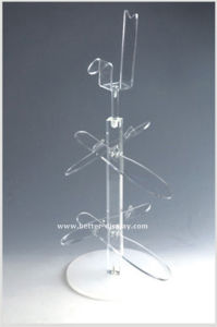 Custom Simple Acrylic Shoe Rack Btr-G1025 pictures & photos