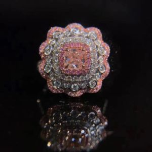 Flower Silver Ring with Cubic Zircon pictures & photos