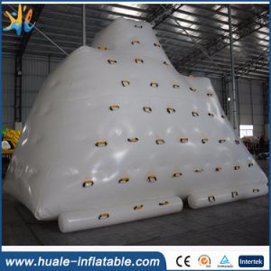 Inflatable Floating Iceberg Rock Climbing, Inflatable Iceberg Water Toy for Sale