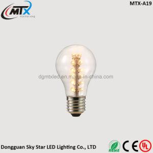 SAA A19 2W E27 Warm White LED Edison Light Bulb pictures & photos
