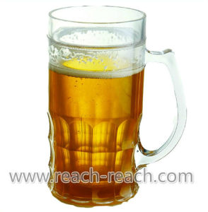 Double Wall Plastic Beer Ice Mug (R-7030) pictures & photos