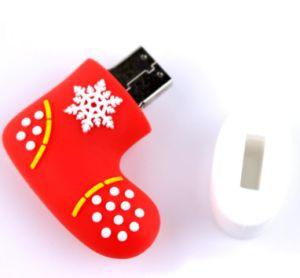 New Design Snow Christmast Socks Design PVC pictures & photos