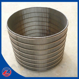 304stainless Steel Slotted Wedge V Wire Screen Tube pictures & photos