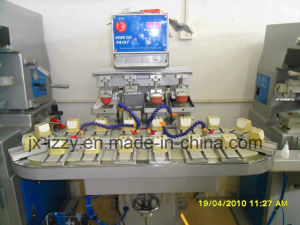 6 Color Rotary Pad Printer Machine pictures & photos