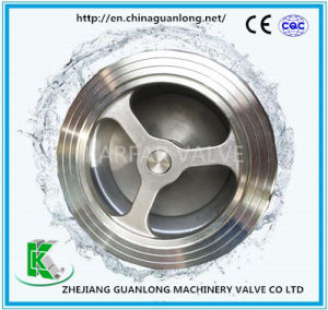 Wafer Lift Check Valve (H71H/W) Spring Loaded pictures & photos