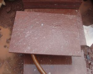 China Red Porphyry Granite Tiles/Slabs pictures & photos