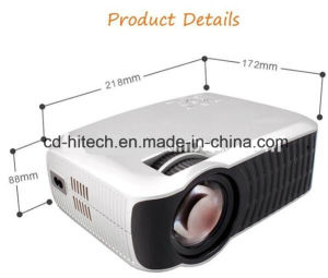 New Arrival! LED Projector 1280 X 720 Built-in Android 4.4 WiFi Bluetooth Beamer Support Dlan Airplay Sync with Phone PC