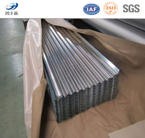 Gi Galvanized Corrugated Iron Sheet / Zinc Metal Roofing Sheet pictures & photos