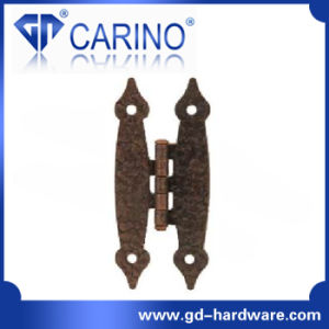 "European ""H"" Hinge Iron Door Hinge with Many Kinds of Surface (HY817) pictures & photos"