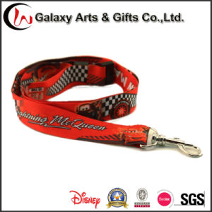 Custom Heat Transfer Printed Polyester Fabric Lanyard pictures & photos