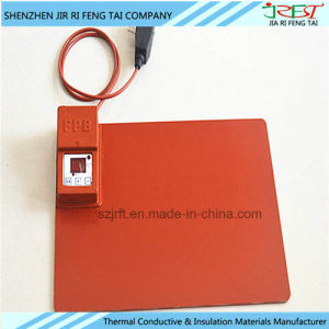 DC12V DC24V Flexible UL Rubber Heating Sheet Manufacture pictures & photos