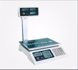 Max Capacity 60kg 3units Display Electronic Weighing Price Scale pictures & photos