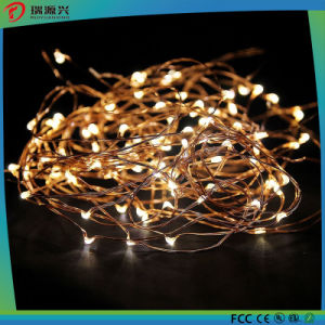 Yellow Color LED Copper Wire String Lights L1013-008 pictures & photos