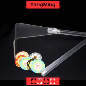 Transparent Poker Chip Rake (YM-SR02) pictures & photos
