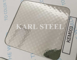 304 Stainless Steel Ket012 Etched Sheet for Decoration Materials pictures & photos