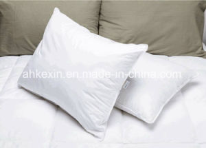 6cm Grey Duck Feather Neck Pillow pictures & photos