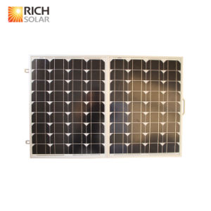 100W Folding Solar Panel for Camping with 5m Cable pictures & photos