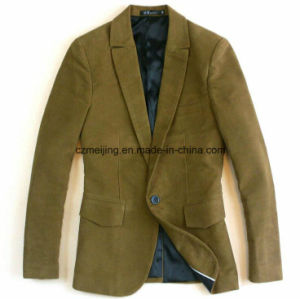 Man`S Khaki Cotton Suit