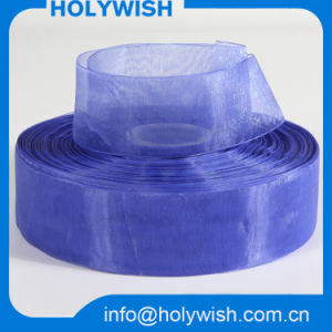 Wholesale Nylon Satin Wired Sheer Organza Ribbon for Bows