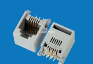 Rj11 Connector 6p4c White pictures & photos