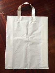 Custom Plastic Printed Logo Plastic Vest Handbag Shopping Bag pictures & photos
