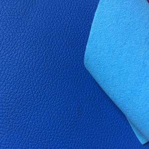 PU Coated Mircrofiber Leather for Car Seats pictures & photos
