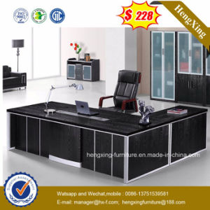 (HX-G0301) Black Color Luxury Office Table pictures & photos