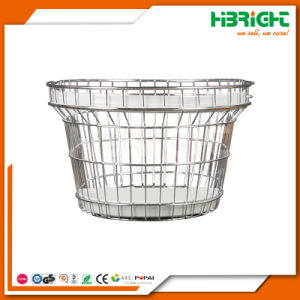 Round Oval Metal Wire Cosmetics Shopping Basket pictures & photos