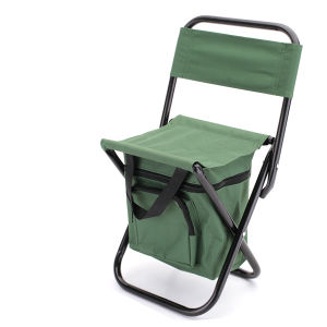 Backpack Folding Fishing Camping Chair with Cooler Bag ((MW11044) pictures & photos