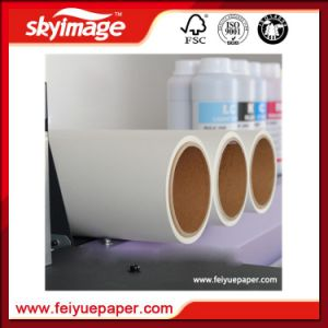 Jumbo Roll Anti-Curl 57GSM Fasy Dry 1.32m Sublimation Transfer Paper for Ms-Jp4 pictures & photos