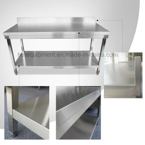Stainless Steel Commercial Kitchen Prep Work Table 30 in pictures & photos
