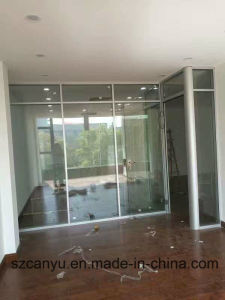 Hot New Products Aluminium Frame Office Glass Partition for Wall pictures & photos