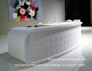 Corian Solid Surface Hotel Check-in Front Counter pictures & photos
