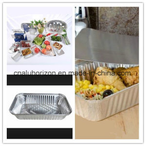 High Quality Household Aluminum Foil Tray for packaging pictures & photos