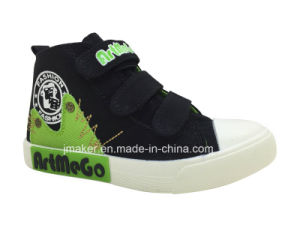 New Design Children Canvas Footwear (J2320-B) pictures & photos