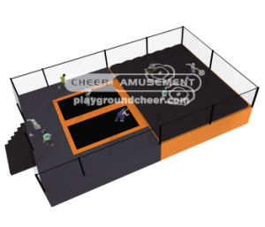 Cheer Amusement High-Quality Professional Outdoor Trampoline pictures & photos