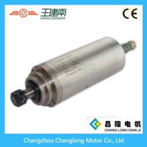 Manufactre 3kw Water Cooled High Speed Three Phase Asynchronous Spindle Motor for Wood Carving CNC Router pictures & photos